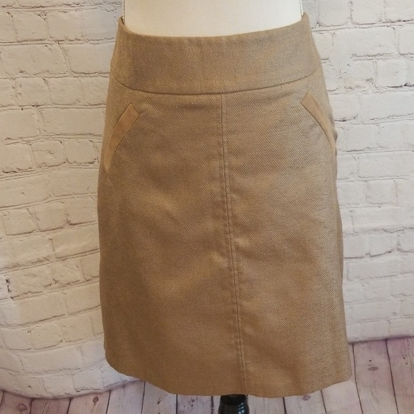 The Limited Dresses & Skirts - The Limited Collection Tan Pencil Skirt